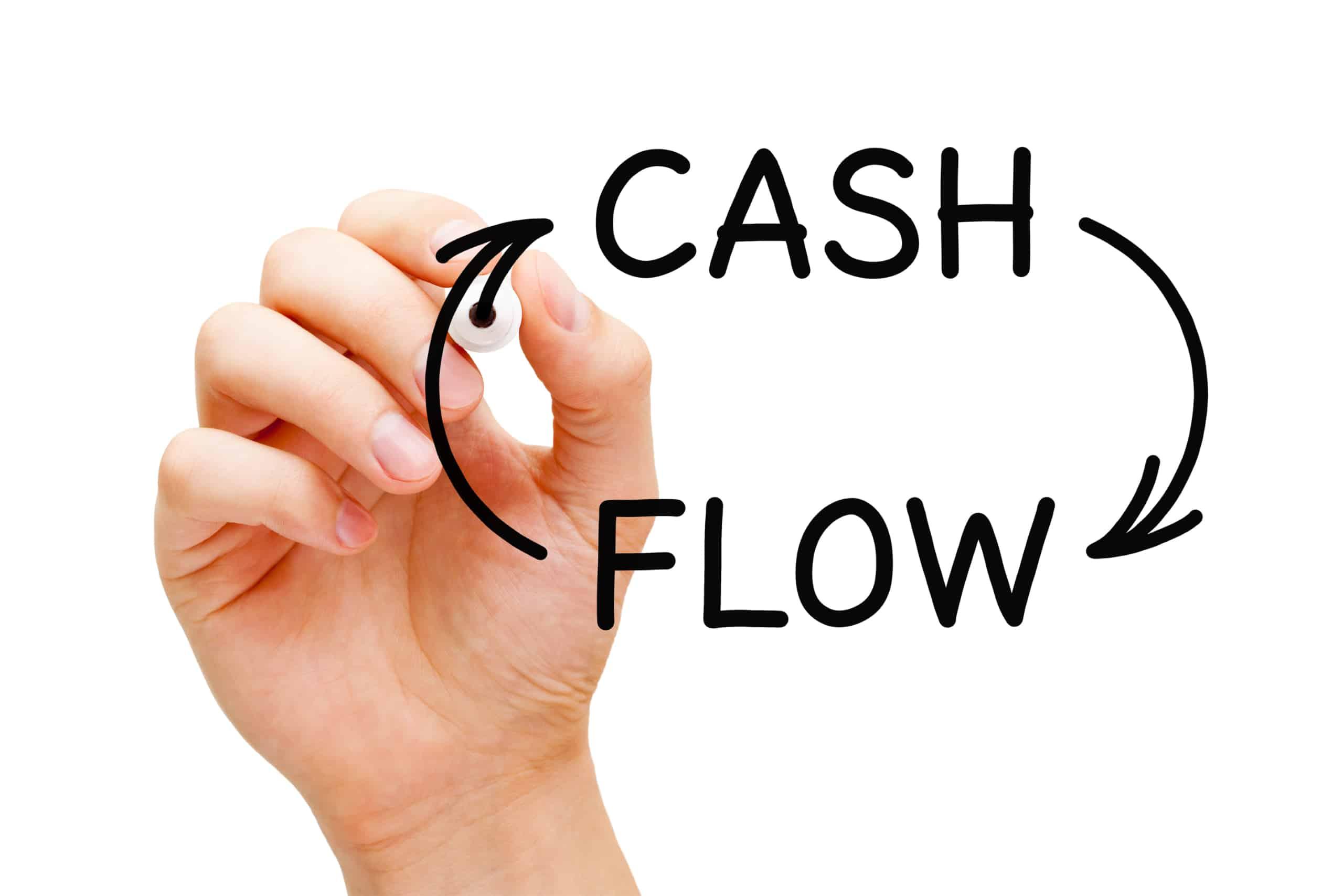 cash flow written out